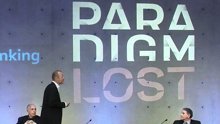 Paradigm Lost Logo Projection