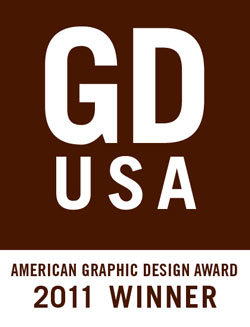 Graphic Design USA Winner Badge