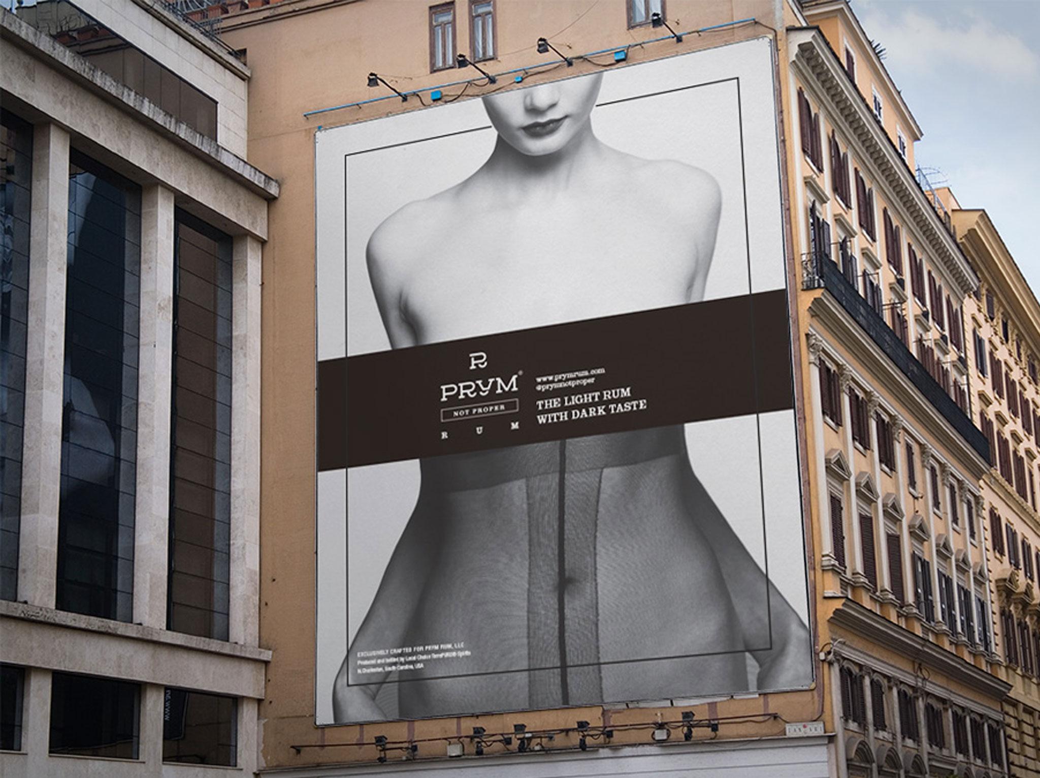 Prym Rum billboard