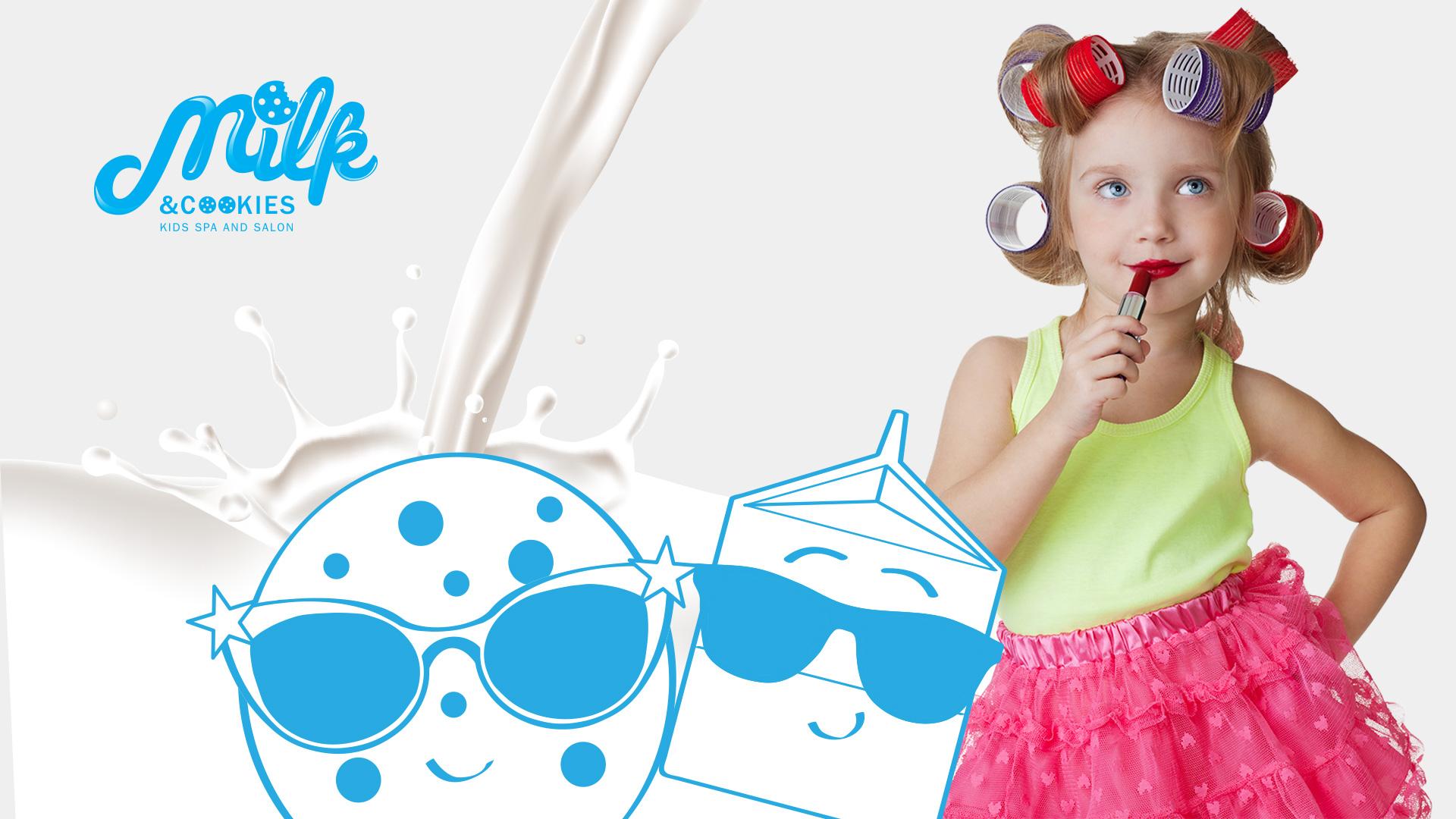 Milk and Cookies Kids Spa Model Photo