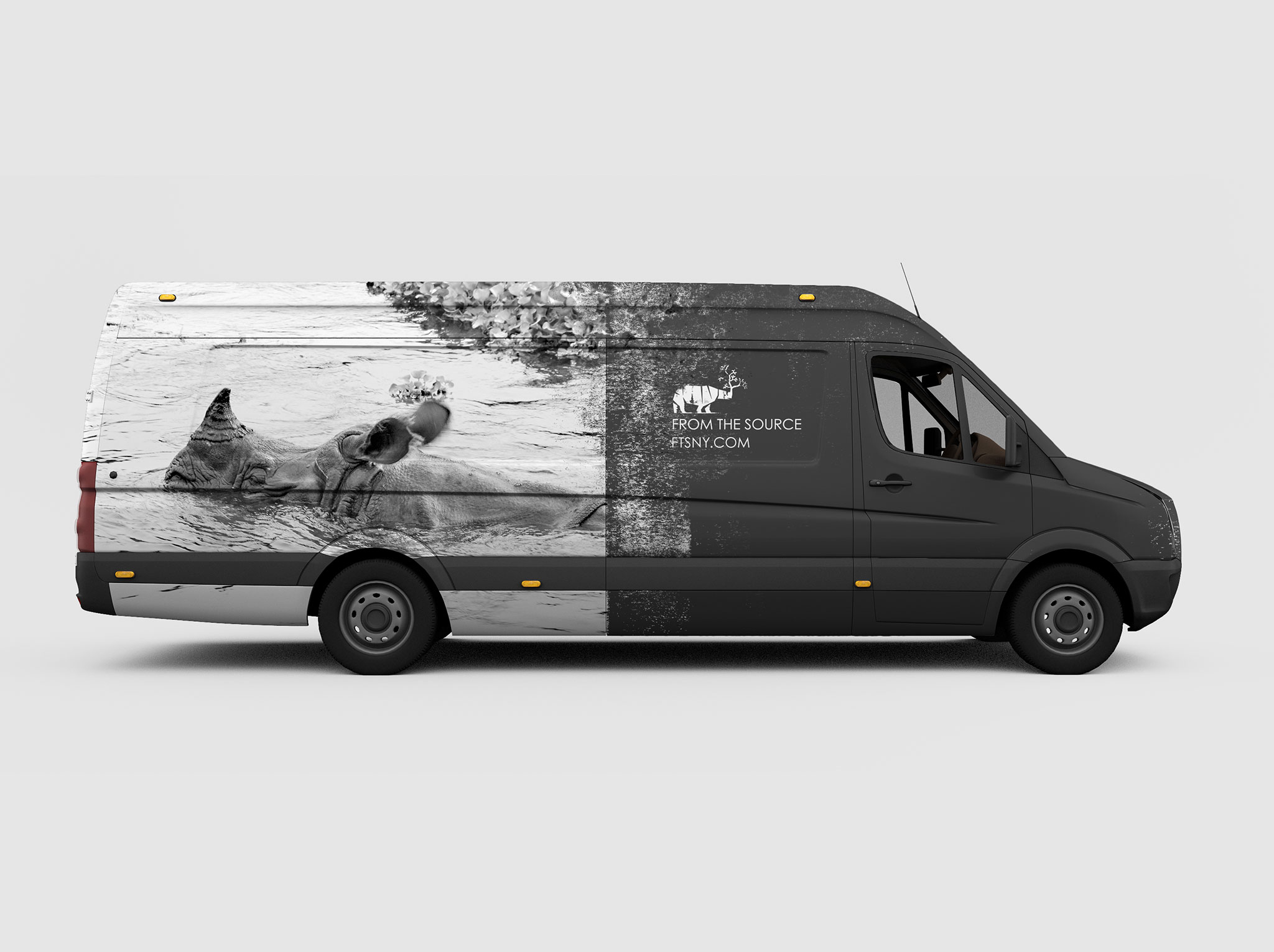 Spil Creative delivery van design for From The Source