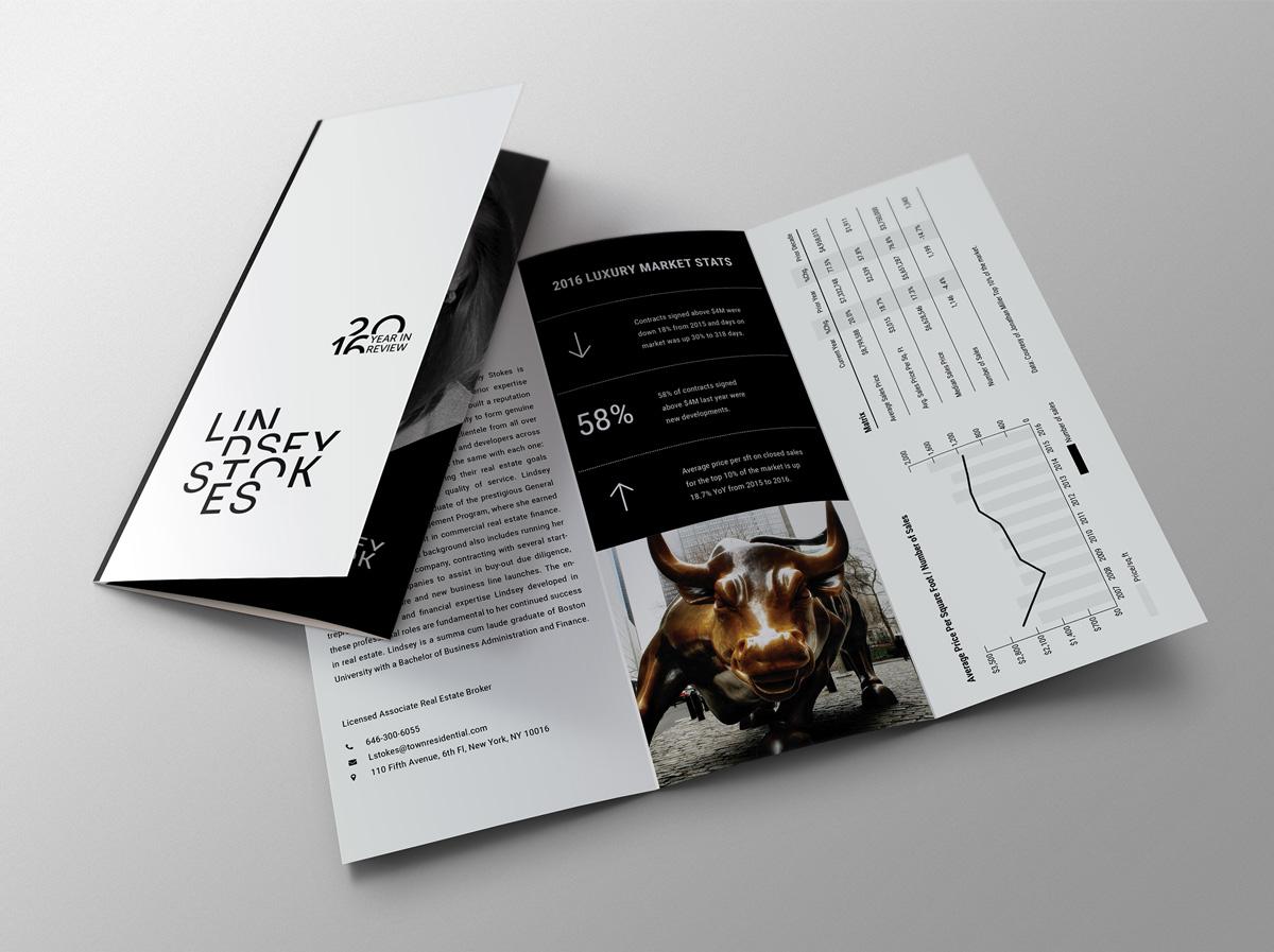 Lindsey Stokes Printed Brochure