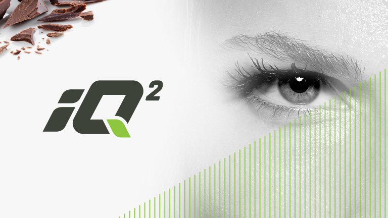 iQ2 nootropics logo and image of an eye