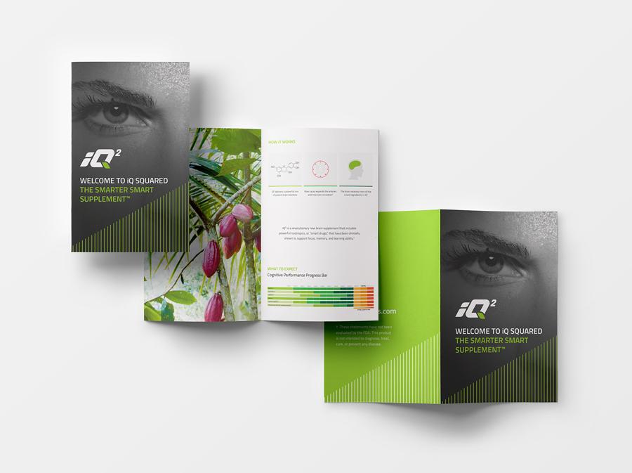iQ2 Nootropics Printed Brochure