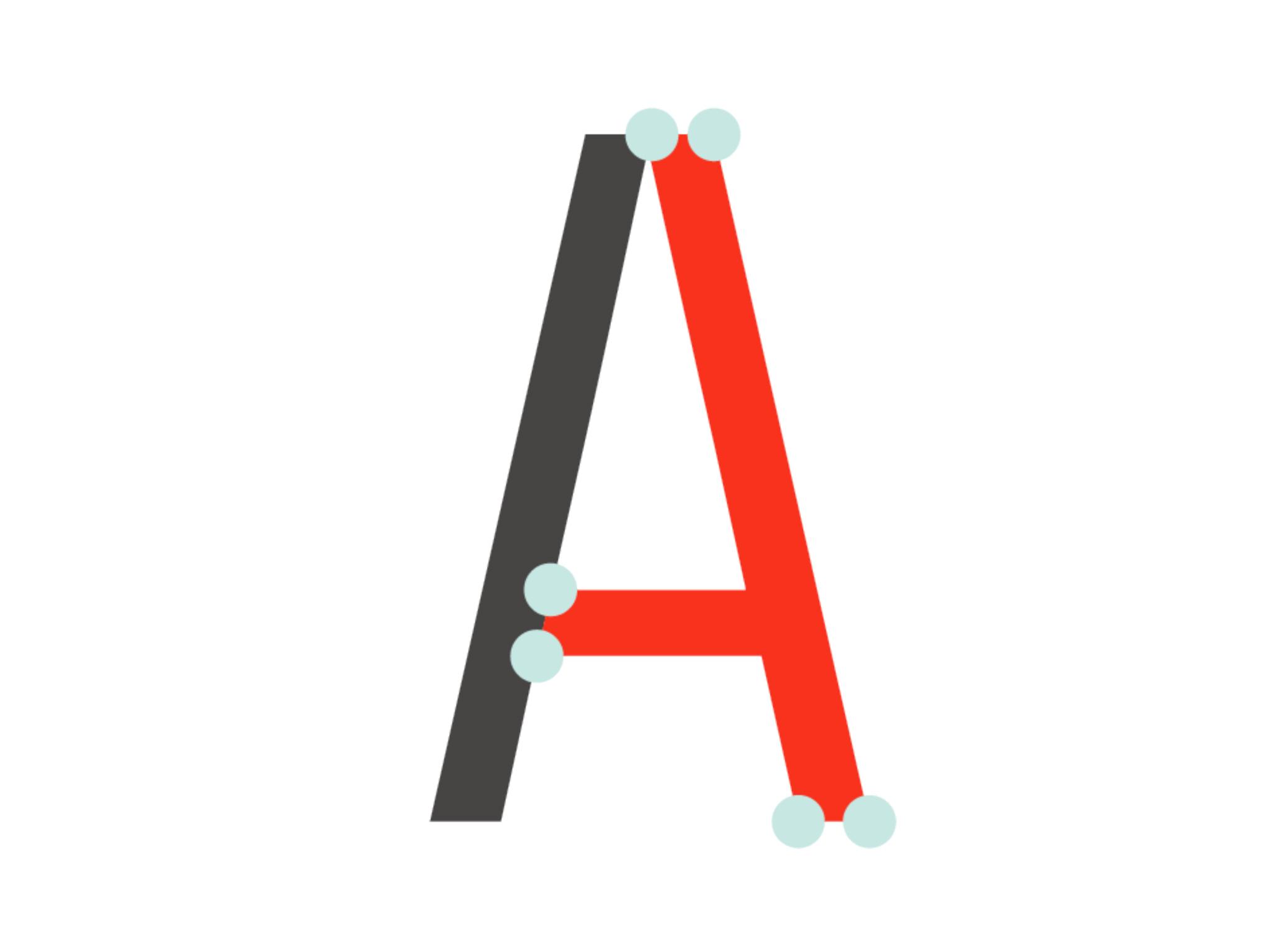 Spil Creative Architext Font letter