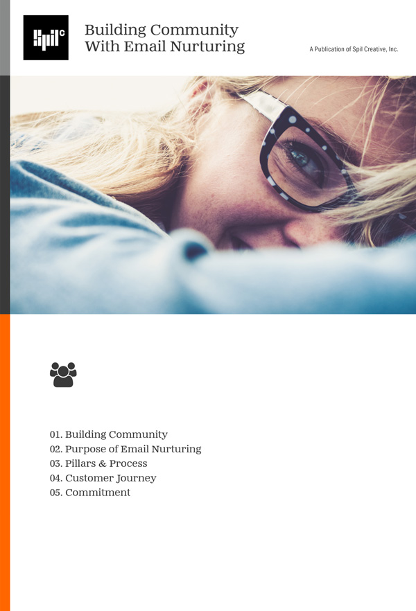 Book Cover for Building Community with Email Nurturing